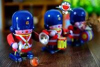 Out of print Banda Robô Tin Toy Vento até brinquedos de metal Coleção Modelo