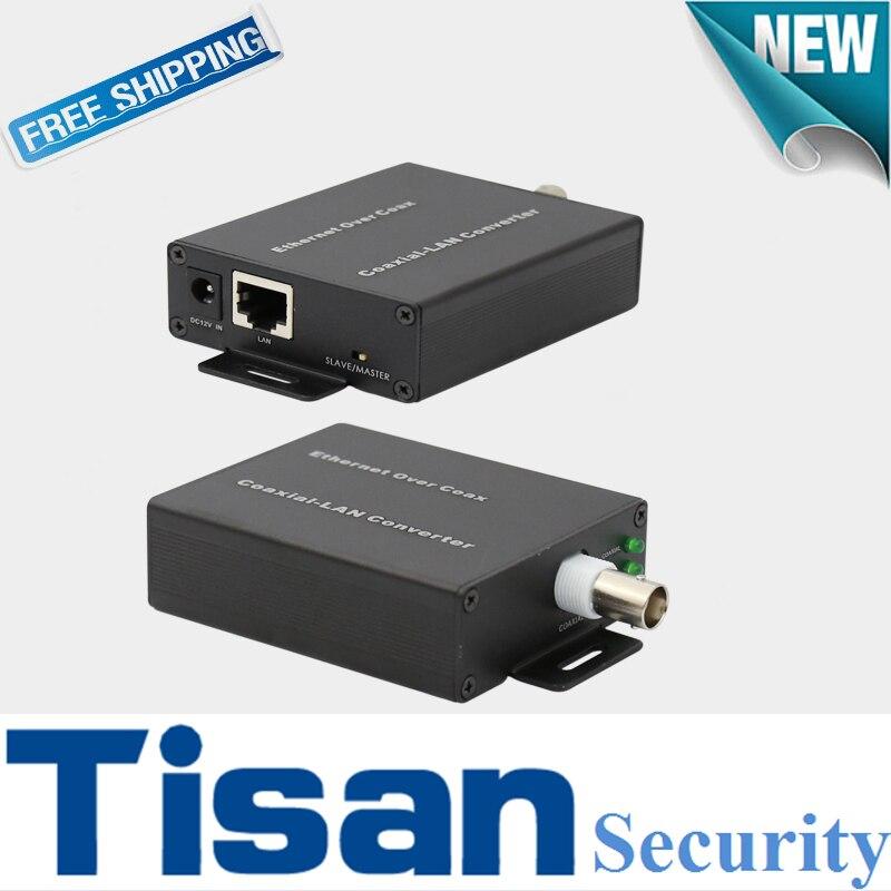 1ch IP extennder over Coax(EOC) ,IP over coax for IP cameras кабель антенный hama h 83190 coax m coax f 1 5m