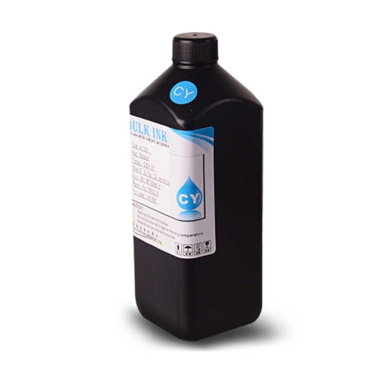 6 Botol 1000 Ml LED UV Tinta untuk Roland untuk Mimaki untuk Mutoh DX3 DX4 DX5 DX6 DX7 Printhead atau flatbed Pencetak Inkjet Lembut/Keras