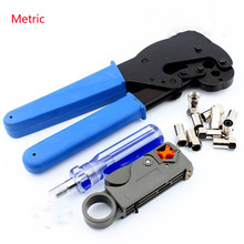 цены -5-7-9 cold press pliers double shield 75-5 stripping knife + metric booster + 10 metric dispenser cold head