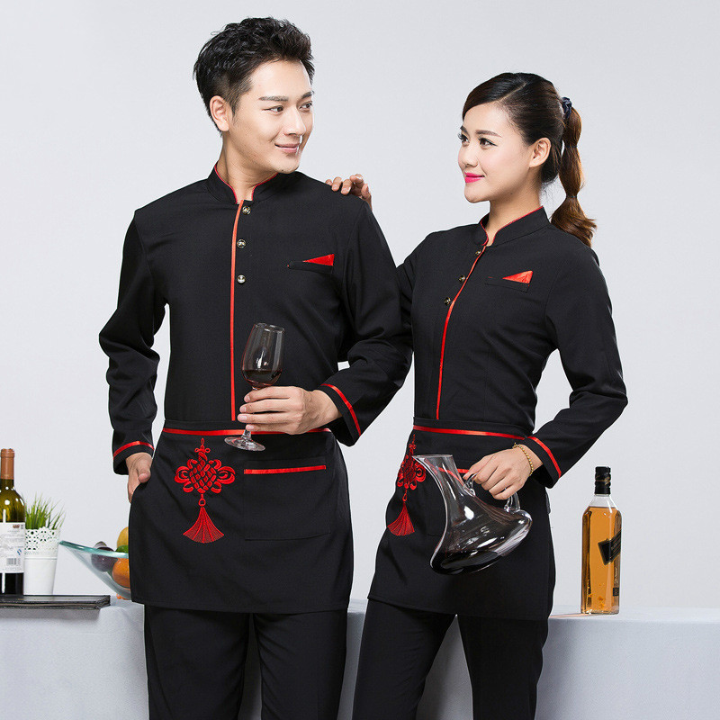 Online buy wholesale restaurant waiter uniform from china