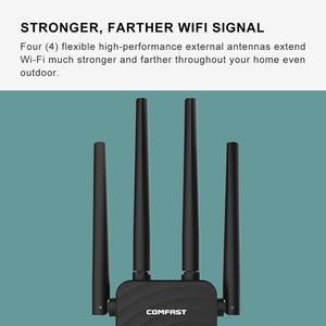 Image 4 - Comfast cf CF WR754AC 1200 150mbps のワイヤレス無線 lan エクステンダリピータ/ルータ/ap デュアルバンド 2.4 & 5.8 ghz 4 アンテナ長距離信号アンプ