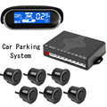 12V 40KHz CQ-A02S Car Parking System Black Premium Rear&Front View Sensors and Display Parking Detector Reversing Radar