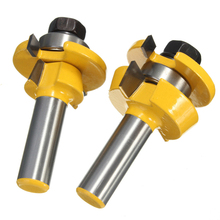 2Pcs Rail & Stile Router Bit 1/2