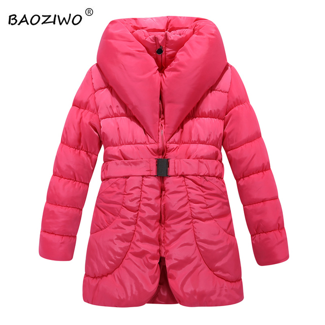 Baoziwo Girl's winter jackets for girls coats in outwear coats ...