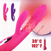 G Spot Rabbit Dildo Vibrator Orgasm Adult Toys USB Charging Powerful Masturbation Sex Toy for Women Waterproof adult Sex product 2