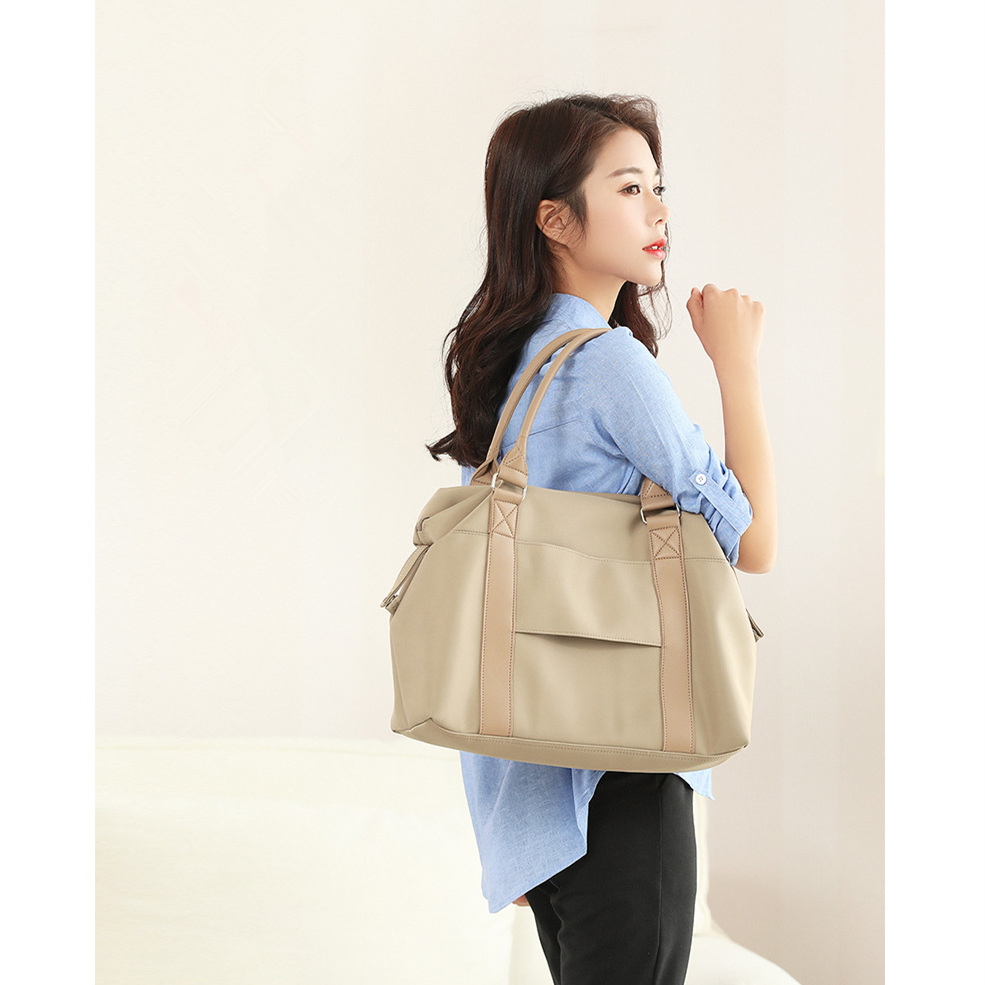 Brand Waterproof  Women Laptop Bag 15.4 15 14 13.3 13 Inch High Capacity Shoulder Travel Bag Multifunction Portable Notebook Bag