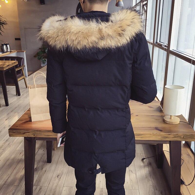 Ветровки мужские зимняя куртка 2018 мужские хлопчатобумажные мужские средней длины одежда на хлопковой подкладке A458 998 P120 - 3