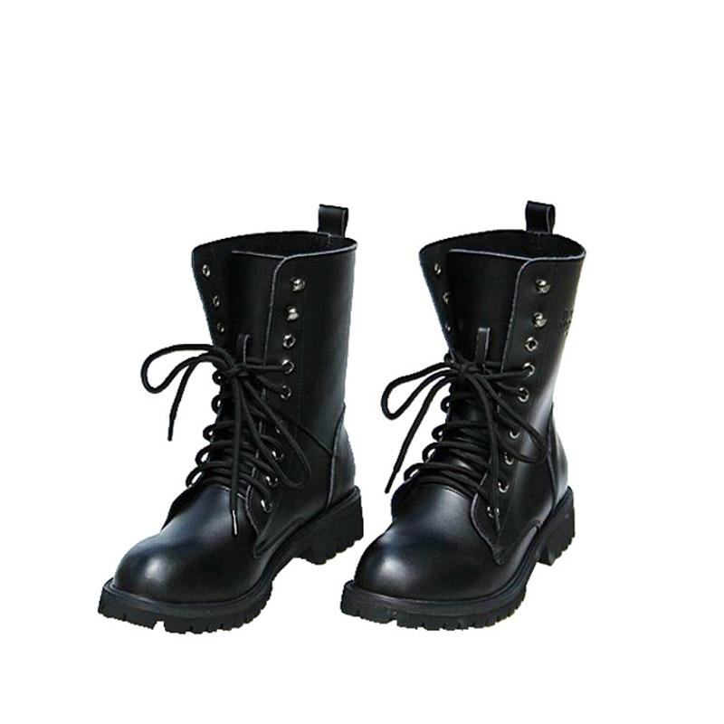Women Black Boots - Cr Boot