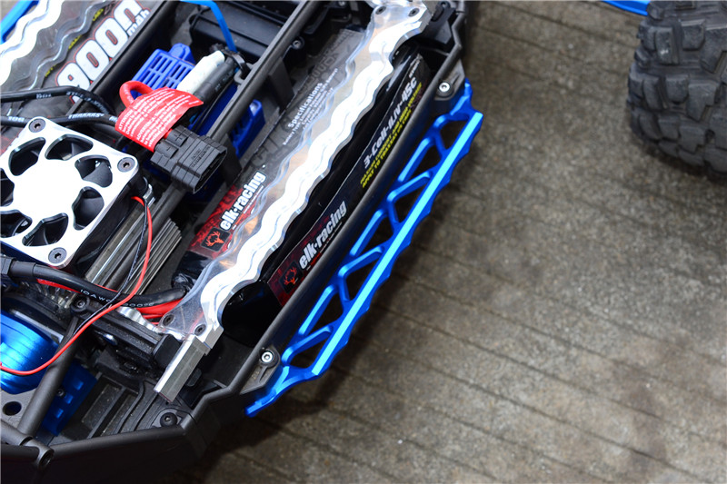 все цены на Traxxas X-Maxx 4X4 Upgrade Parts Aluminum Side Trail онлайн