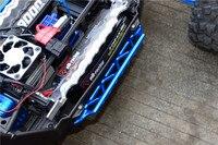 Traxxas x-maxx 4x4 peças de atualização trilha lateral de alumínio