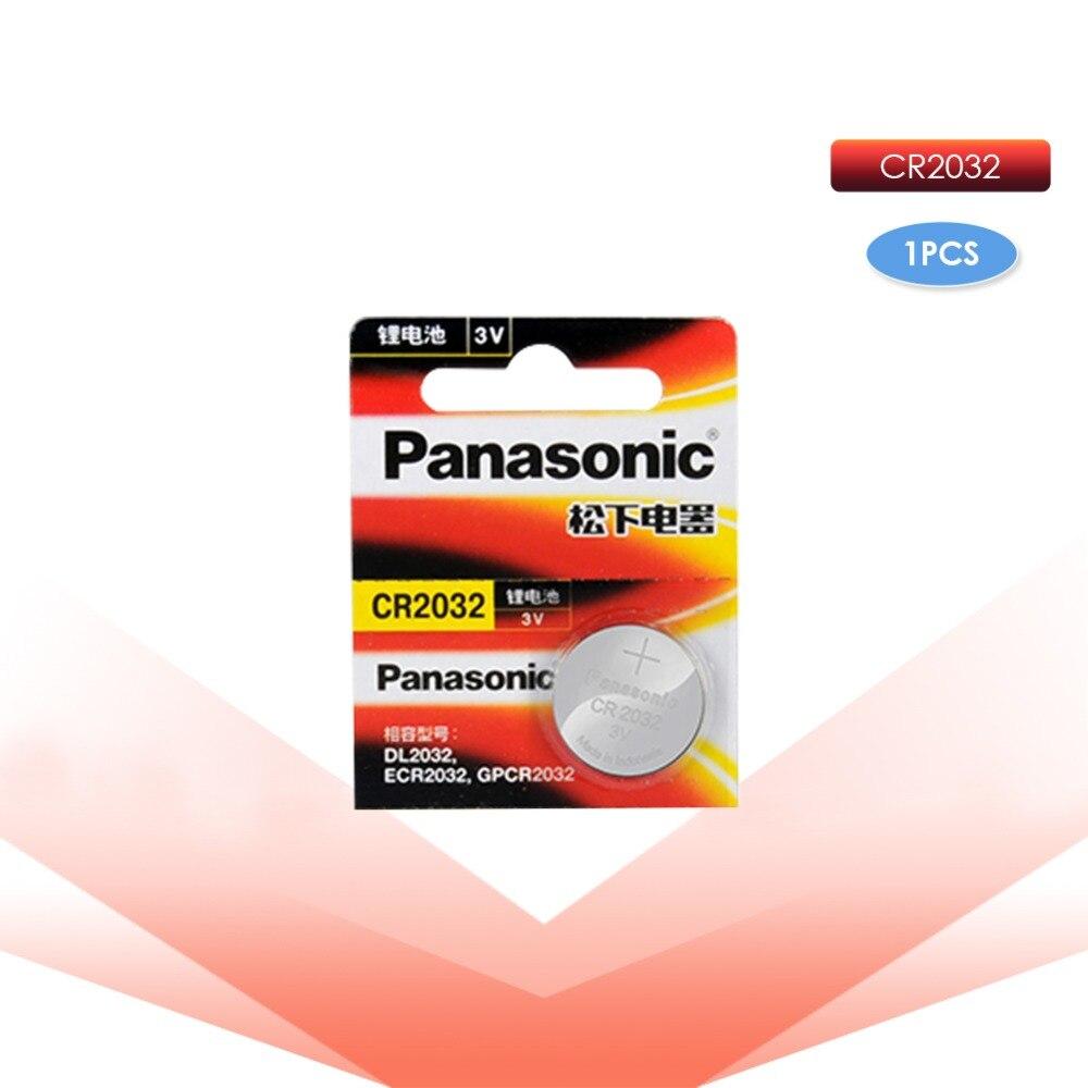 PANASONIC 5 pc original cr2032 DL2032 ECR2032 5004LC KCR2032 BR2032 3 v knopf zelle münze lithium-batterien für uhr auto spielzeug