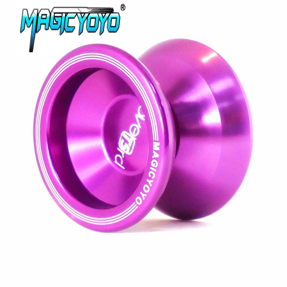 High Quality Magic YOYO T5 Metal Professional Yo-Yo Balls Upgraded Version Alloy Aluminum yo yo Toy Gift For Children aoda portable cool plastic alloy yo yo toy deep blue