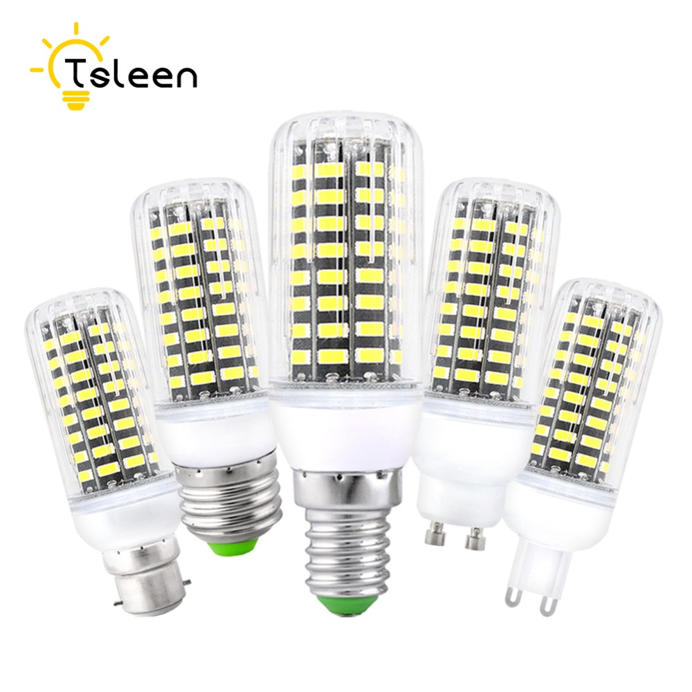 E27 LED Lamp E14 LED Bulb SMD5730 220V Corn Bulb 24 36 48 56 69