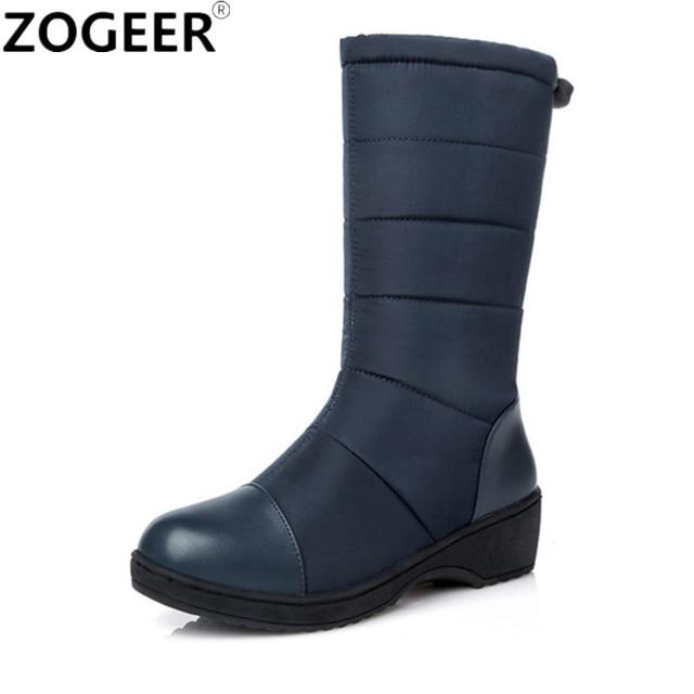 Große Größe 44 Heißer Winter Winter Winter Warm Schnee Stiefel Mode Plattform Pelz ... ecab50