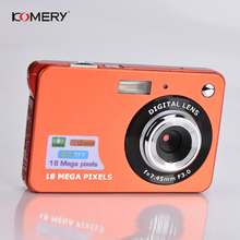 Genuine Komery Original k9 Camera 3.5 inch LCD 1800w Pixel 4X Digital