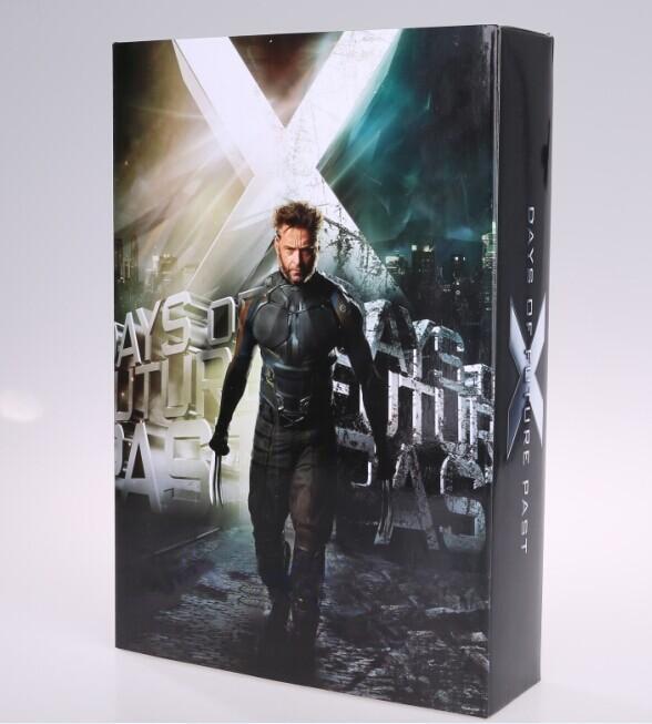 New Marvel  Superhero Wolverine Logan Hugh Jackman  Days of Future Past Style Battle Suit 12 Action Figure Toy New Box days of reading