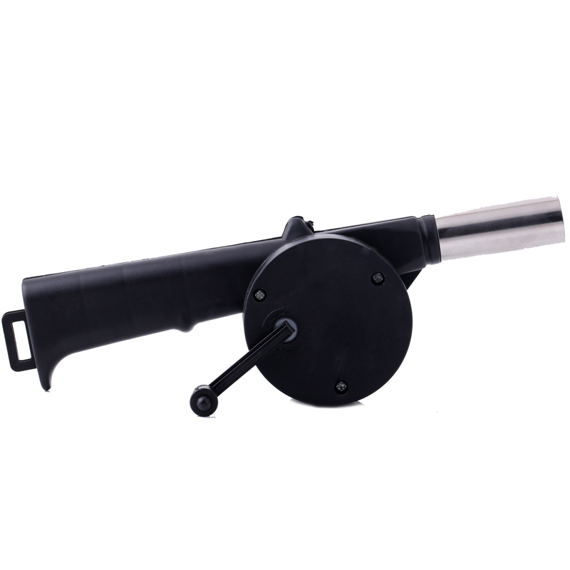 Outdoor Barbecue Fan Hand-cranked Air Blower Portable BBQ Grill Fire Bellows Tools Picnic Camping Accessories 6