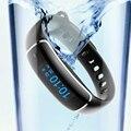 Lynwo m4 inteligente pulsera heart rate monitor de presión arterial dinámico sueño recordatorio de llamada sms ip67 a prueba de agua smart watch