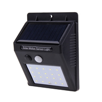 Solar Powered Solar Light 20 LED Waterproof IP65 Sense Light Infrared Sensors Lamp Outdoor Fence Garden