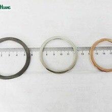 30 шт./лот 35/39 мм/44 мм/47 мм металла плоское железо со сменными круглыми пряжками, аксессуары с металлической пряжкой, черный никель, никель, золото