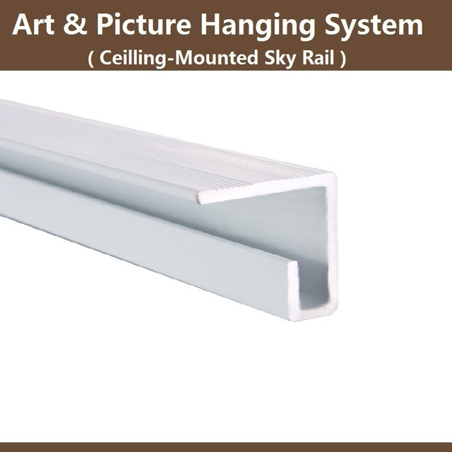Free Shippingart Picture Hanging Systemsky Rail Trackceiling