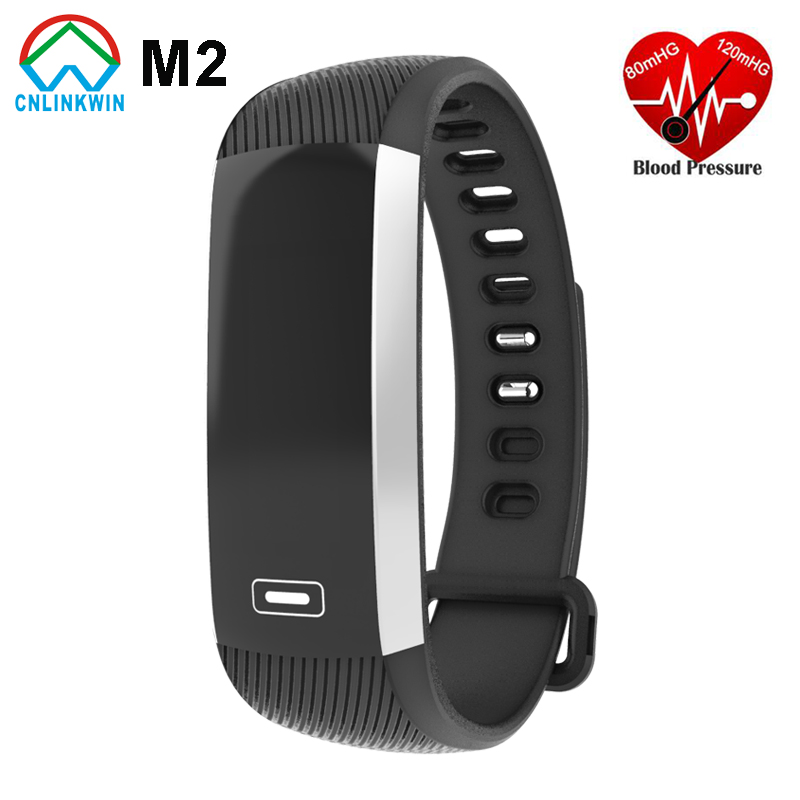 Original M2 font b Smart b font Band Heartrate Blood Pressure Oxygen Oximeter Sport Bracelet Clock