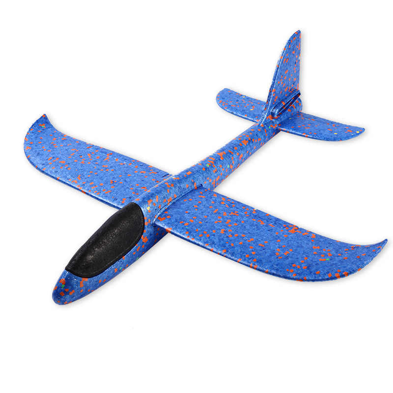 EPP Foam Hand Throw Airplane Outdoor Launch  Flying Glider Plane Kids Gift Toy 48CM Aeroplane Interesting Toys