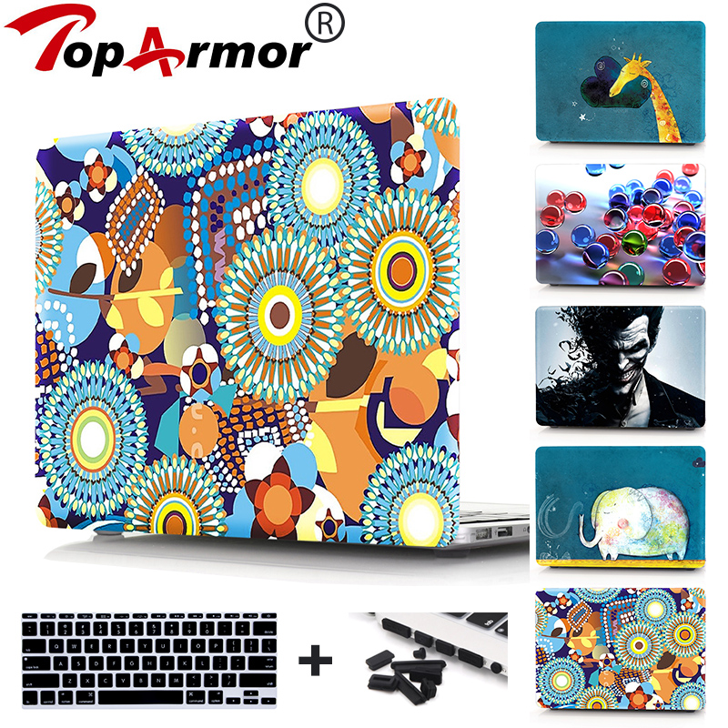 Painted Case for Macbook Air 11 13 12 Pro Retina 13 15 Laptop Case,for Macbook Pro 13 15 Touch Bar A1706 A1708 Laptop Cover