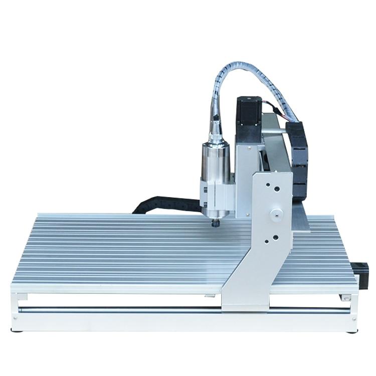 Mini 6040 CNC ruutergraveerija 4. telje A-teljega, graveeringuga - Puidutöötlemisseadmed - Foto 5