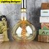 Big Size R160 Edosin Light Bulb Vintage Edison Light Bulb Spiral Filament Design Incandescent Lamp Retro