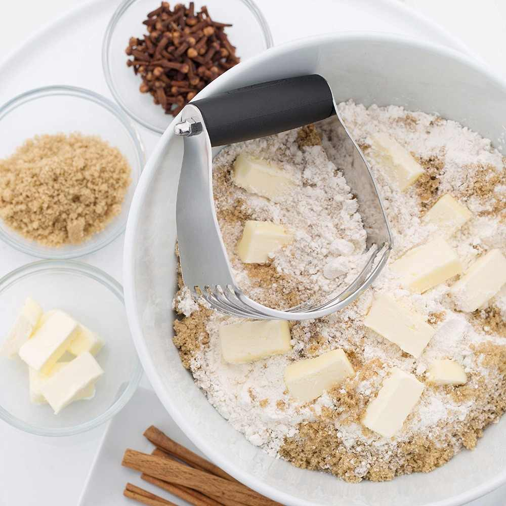 5 lâmina Misturador da Pastelaria, Multifunções Heavy Duty Cortador de Massa De Pão Misturador, Misturador Da Pastelaria Profissional