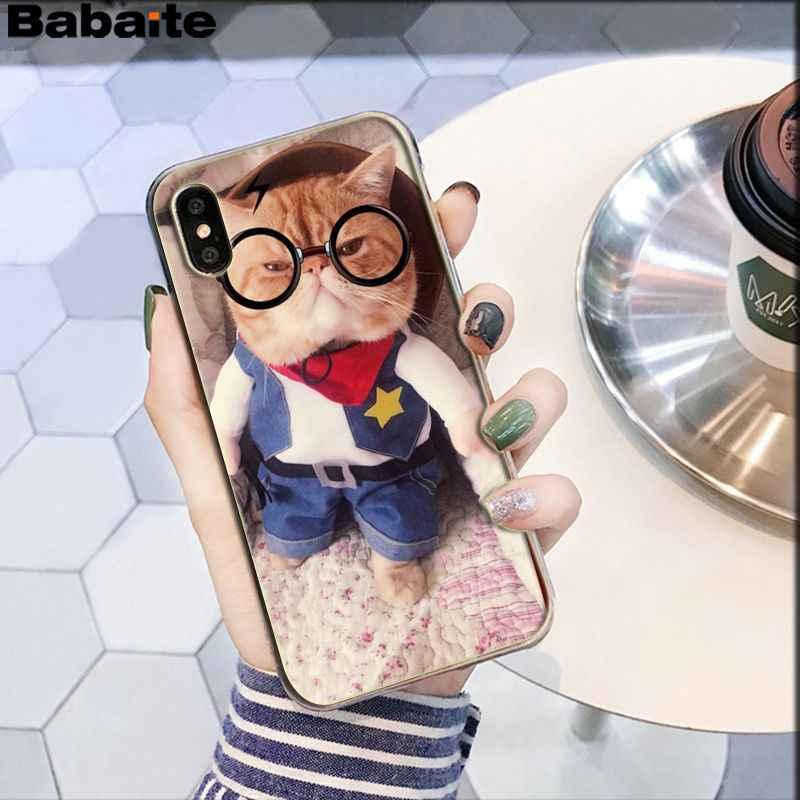 Babaite nhỏ Dễ Thương đứa con hư Nhiều Màu Sắc Dễ Thương Phụ Kiện Điện Thoại dành cho iPhone X XS MAX 6 6S 7 7plus 8 8Plus 5 5S XR