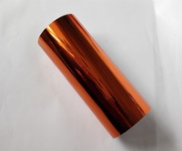 (4 rolls/lot ) Hot stamping foil red brown copper color 280 hot stamping on paper or plastic 16cm x 120m