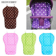 Baby Stroller Seat Cushion Pushchair High Chair Pram Soft Mattresses Toddler Infant Carriages Seat Pad Baby Car Seat Accessories(China)