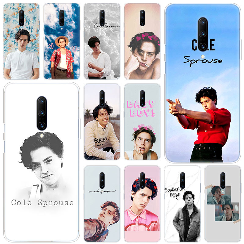 Hot Cole Sprouse Riverdale Soft Silicone Fashion Transparent Case For font b OnePlus b font font
