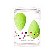 Make Up Beauty micro.mini 2pcs/pack Latex Free esponja maquiagem Cosmetic Blender Puff Makeup Sponge Free shipping