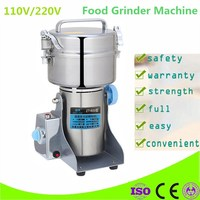 Home Use 220V 600G Stainless Steel Home Electric Mill Herb Grinder Coffee Beans Grain Cereal Mill