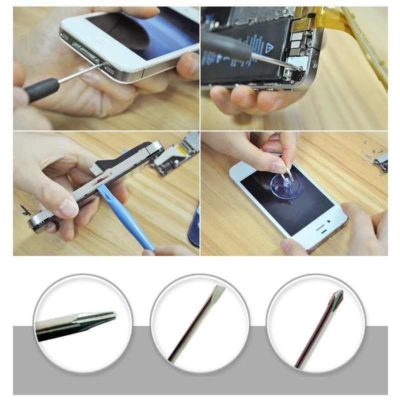 8 قطعة/الوحدة الهاتف المحمول إصلاح أدوات Spudger حدق افتتاح أداة مصاصة عصا مفك مجموعة ل فون 7 6 S 6 سامسونج اليد