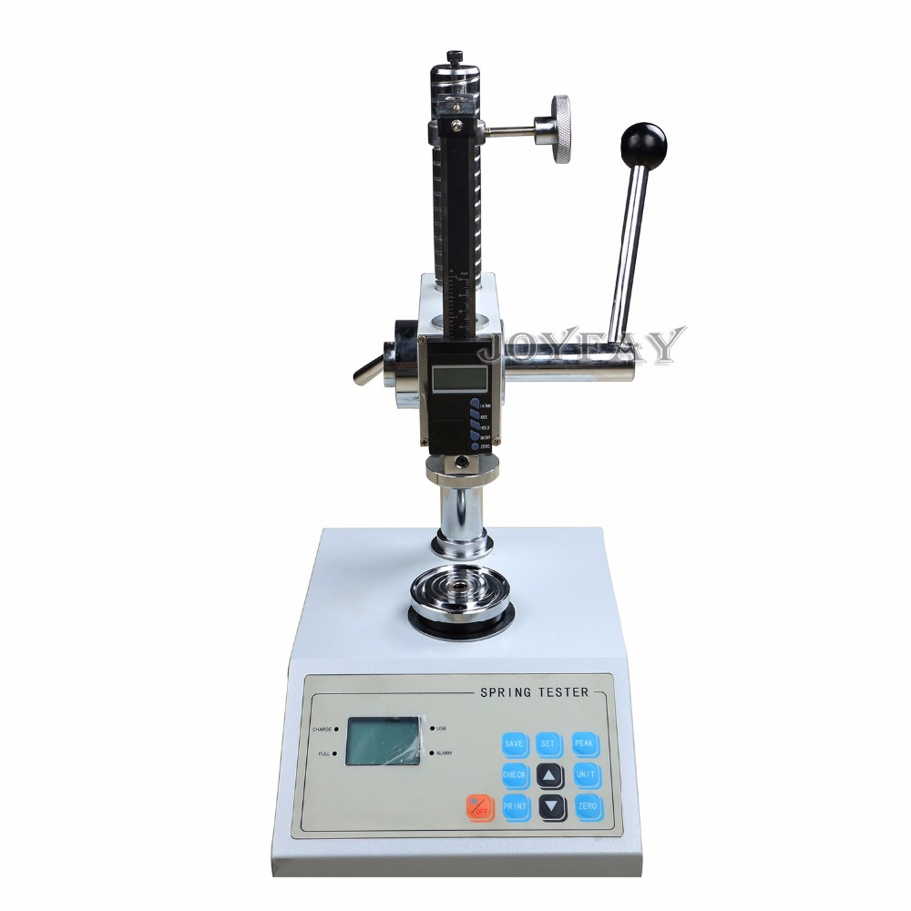 Spring Meter Tester Spring Extension & Compression Test Machine 100N  spring compression spring extension torsion abrasives 300 0 5 5