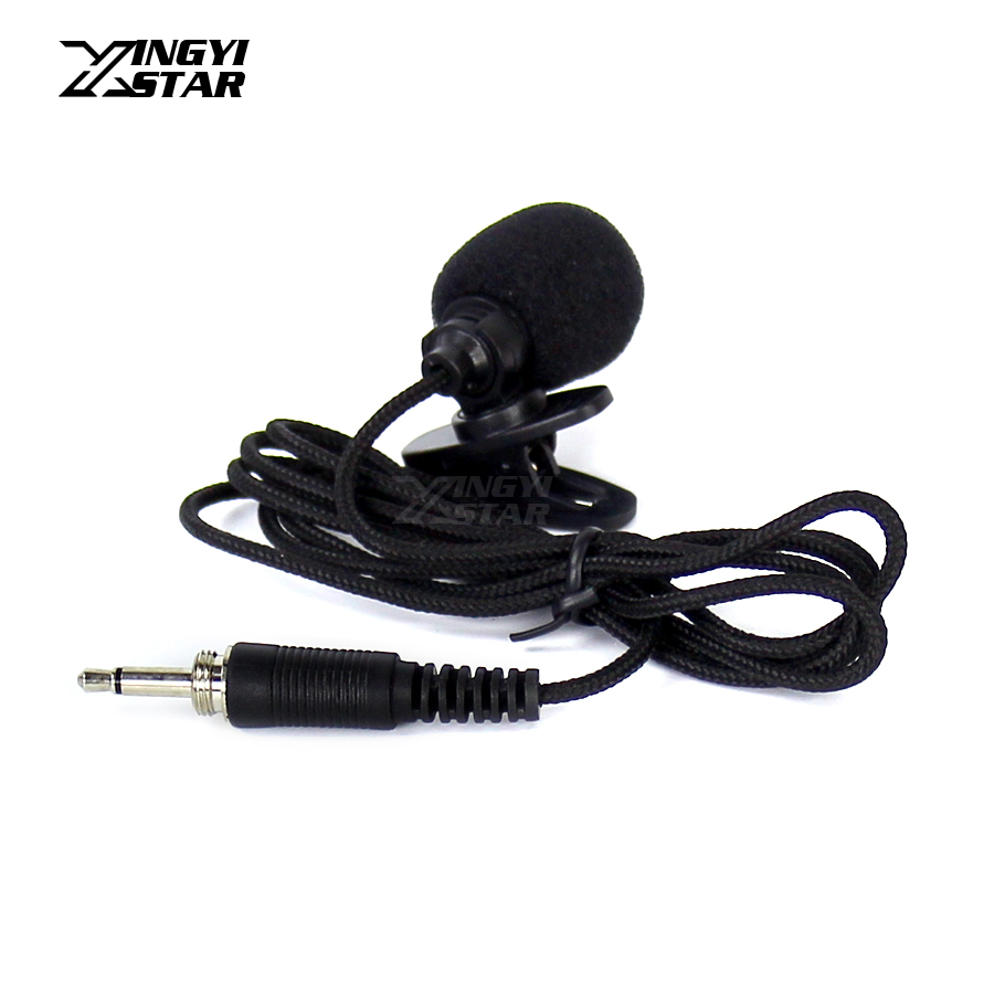 Professional Microfone Lapela Tie Clip Lavalier Microphone 3.5mm Screw Plug Lapel Mic Mike For DSLR Camera UHF Wireless System free shipping uhf professional sx 14 wireless microphone with bodypack transmitter lapel lavalier clip mic band r5 800 820mhz