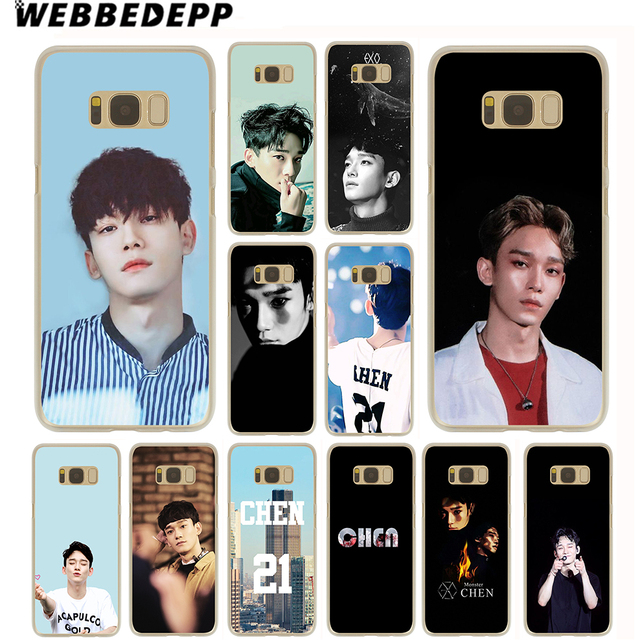 wholesale dealer 22aba d9b9b US $1.99 13% OFF WEBBEDEPP Exo Chen Case for Samsung Galaxy S10 S10E S9 S8  Plus S7 S6 Edge & Note 8 9 Phone Cover-in Half-wrapped Case from Cellphones  ...