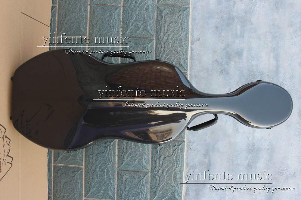 Neuer 4/4 Cellokoffer aus reiner Kohlefaser mit starkem Lichtrad - Musikinstrumente - Foto 4