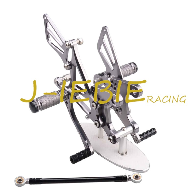 CNC Racing Rearset Adjustable Rear Sets Foot pegs Fit For Kawsaki NINJA ZX6R 2005 2006 2007 2008 TITAINUM morais r the hundred foot journey