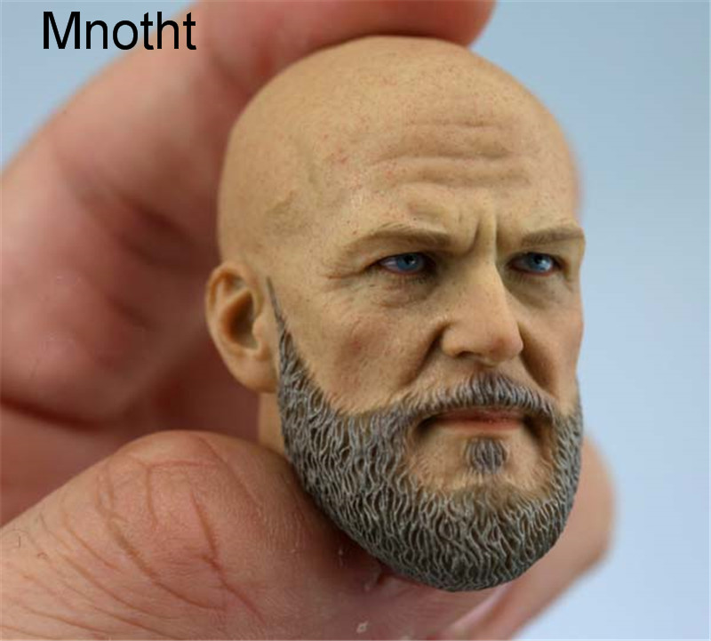 Mnotht  1/6 Scale Bearded Head Sculpt Headplay A-20 For 12 Action Figure