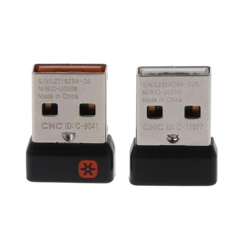 Bonito Dongle Inalámbrico Receptor Unificador Adaptador Usb Para Ratón Logitech Teclado Conectar 6 Dispositivo Para Mx M905 M950 M505 M510 M525 Etc.