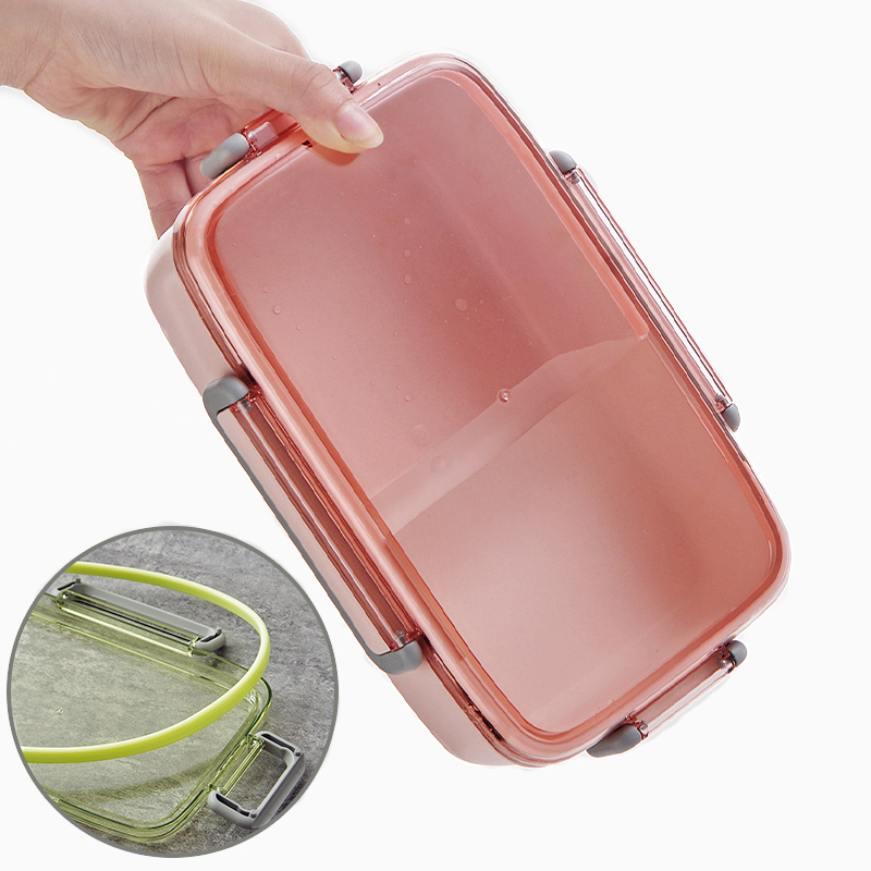 MICCK Microwaveable Lunch Box With Compartments Kids Bento Box Leak Proof Food Container School Lunchbox With Bags For Picnic in Lunch Boxes from Home Garden