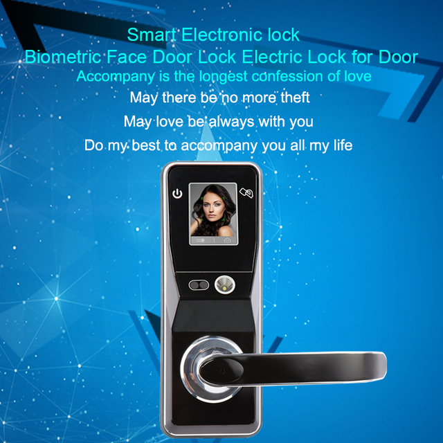 Eseye Face Facial Recognition Door Lock Face Smart Lock Digital Intelligent Electronic Door Lock Safe For Smart Home Anti-theft