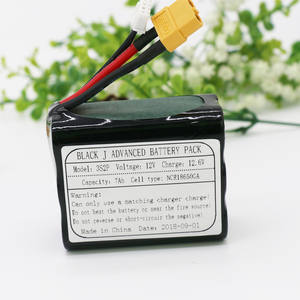 KLUOSI UAV Rechargeable Li-ion Battery 11.1 V/12.6 V 12V7Ah 3S2P Use Single Cell