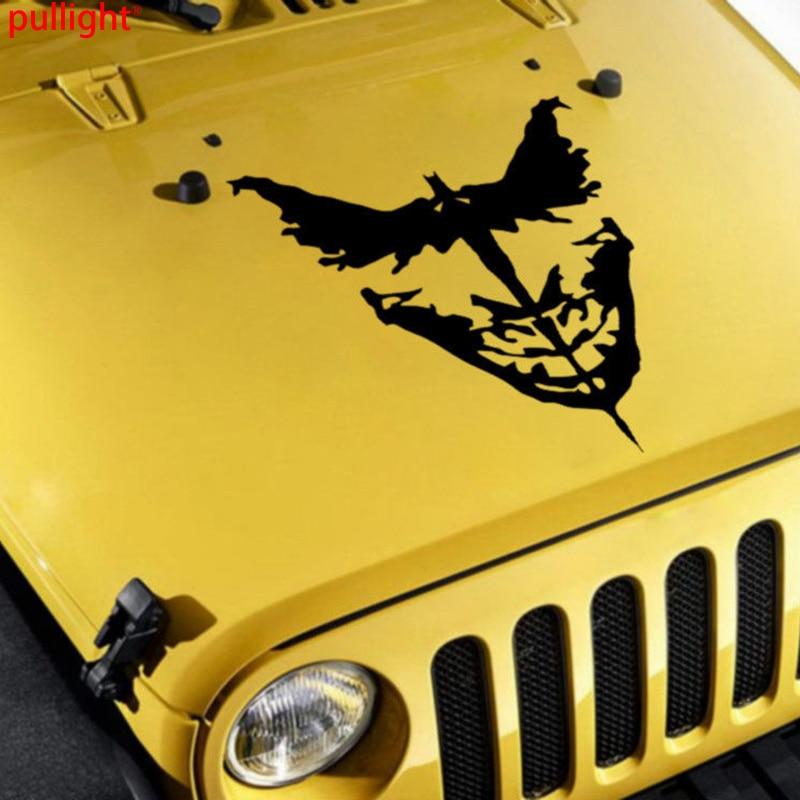 Joker Bat Shadow Serious Comic Car Hood Body Vinyl Sticker Decal